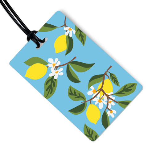Lemon Tree Luggage Tag