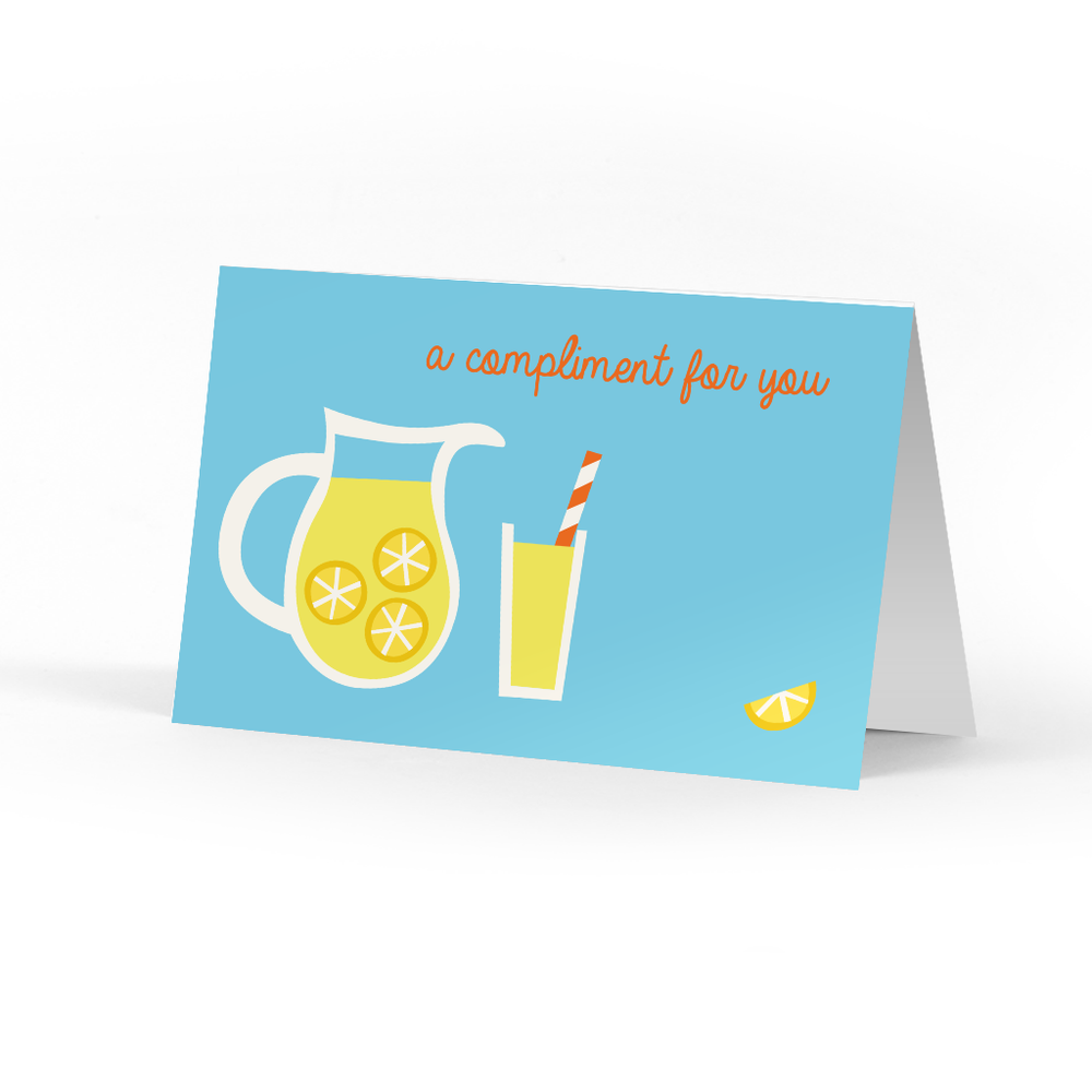 Lemonade Compliment Cards