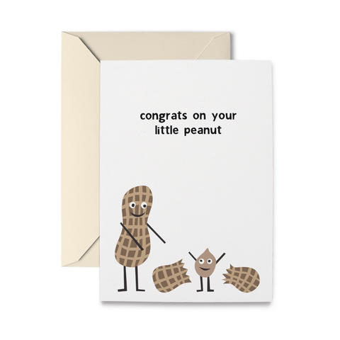 Little Peanut Greeting Card