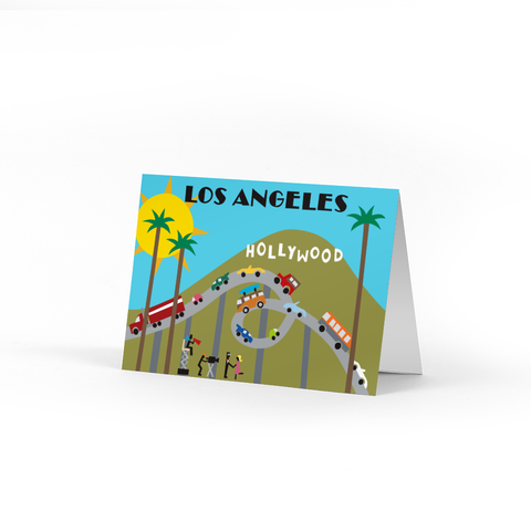 Los Angeles Note Cards