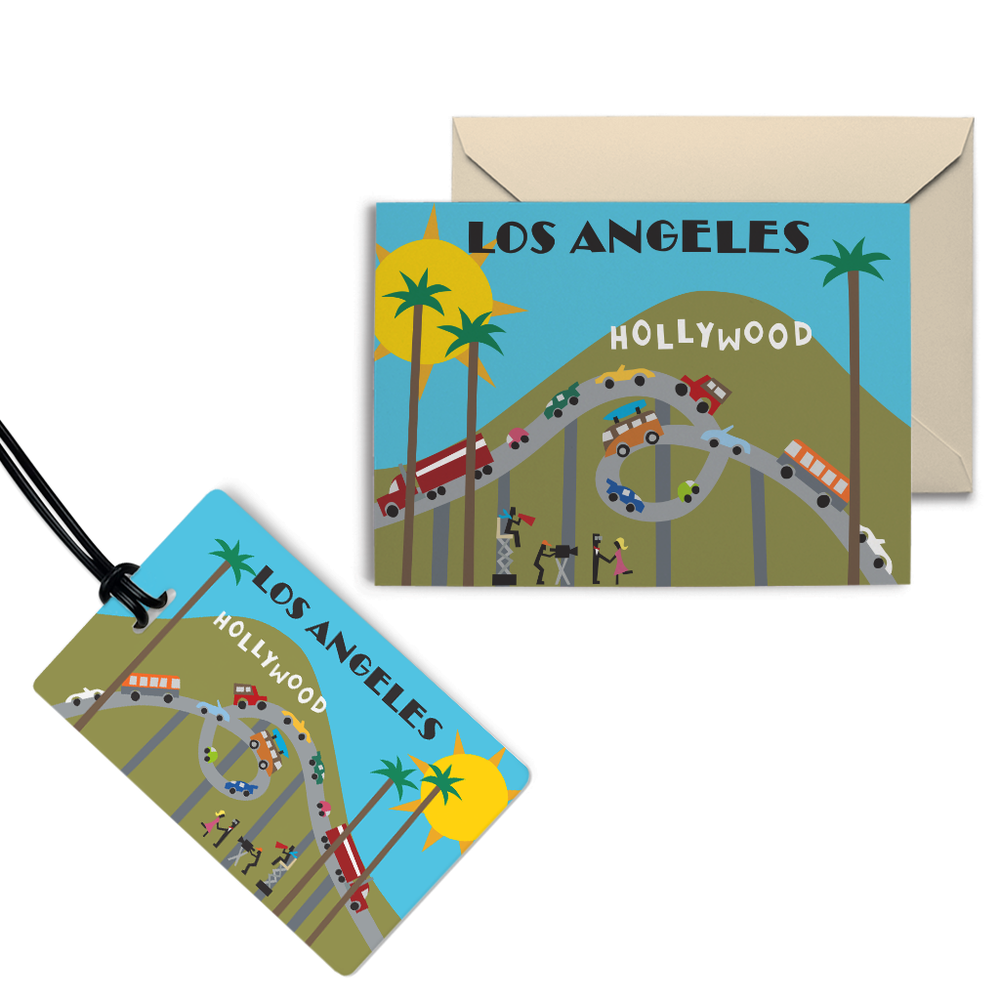 The Los Angeles City Set