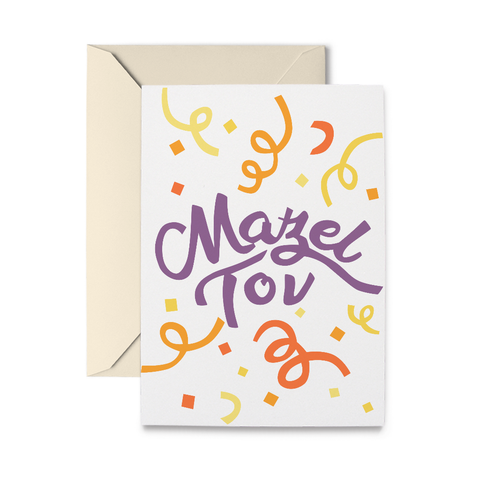 Mazel Greeting Card