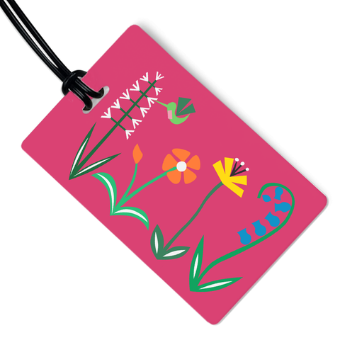 Meadow Luggage Tag