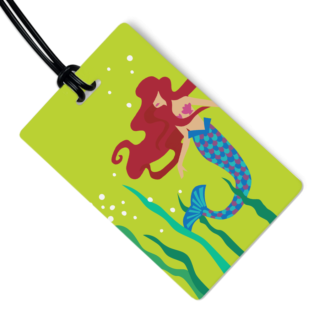 Mermaid Luggage Tag