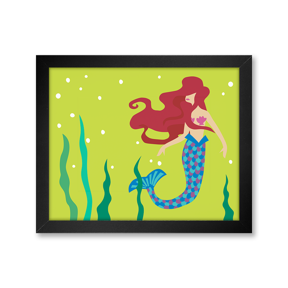 Mermaid, Limited Edition Print