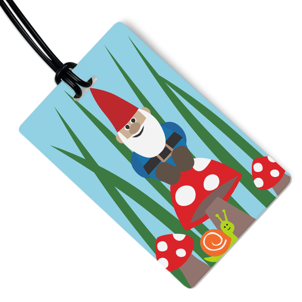 Milo the Gnome Luggage Tag