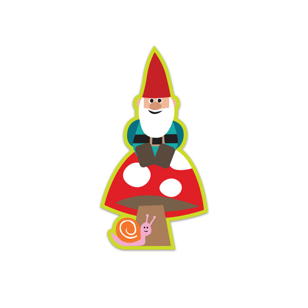 Milo the Gnome Sticker
