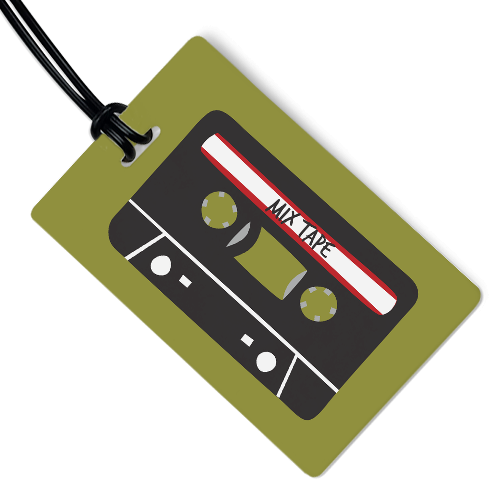 Mix Tape Luggage Tag