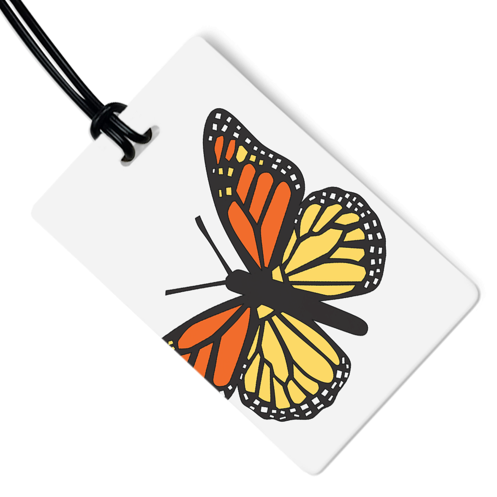 Monarch Luggage Tag
