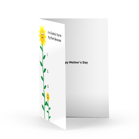 Mother's Day Sunflowers Greeting Card