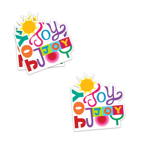 Much Joy Sticker
