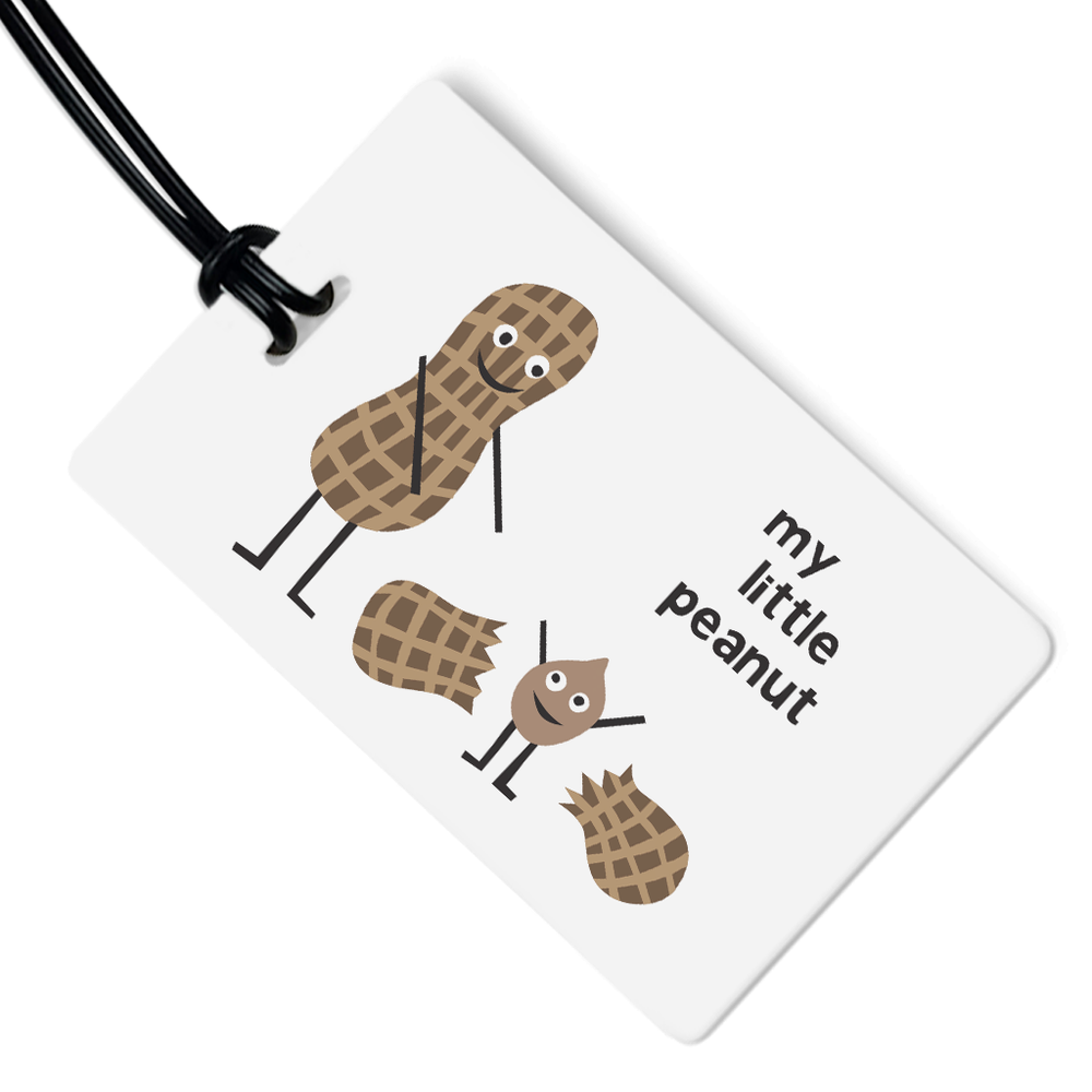 My Little Peanut Luggage Tag