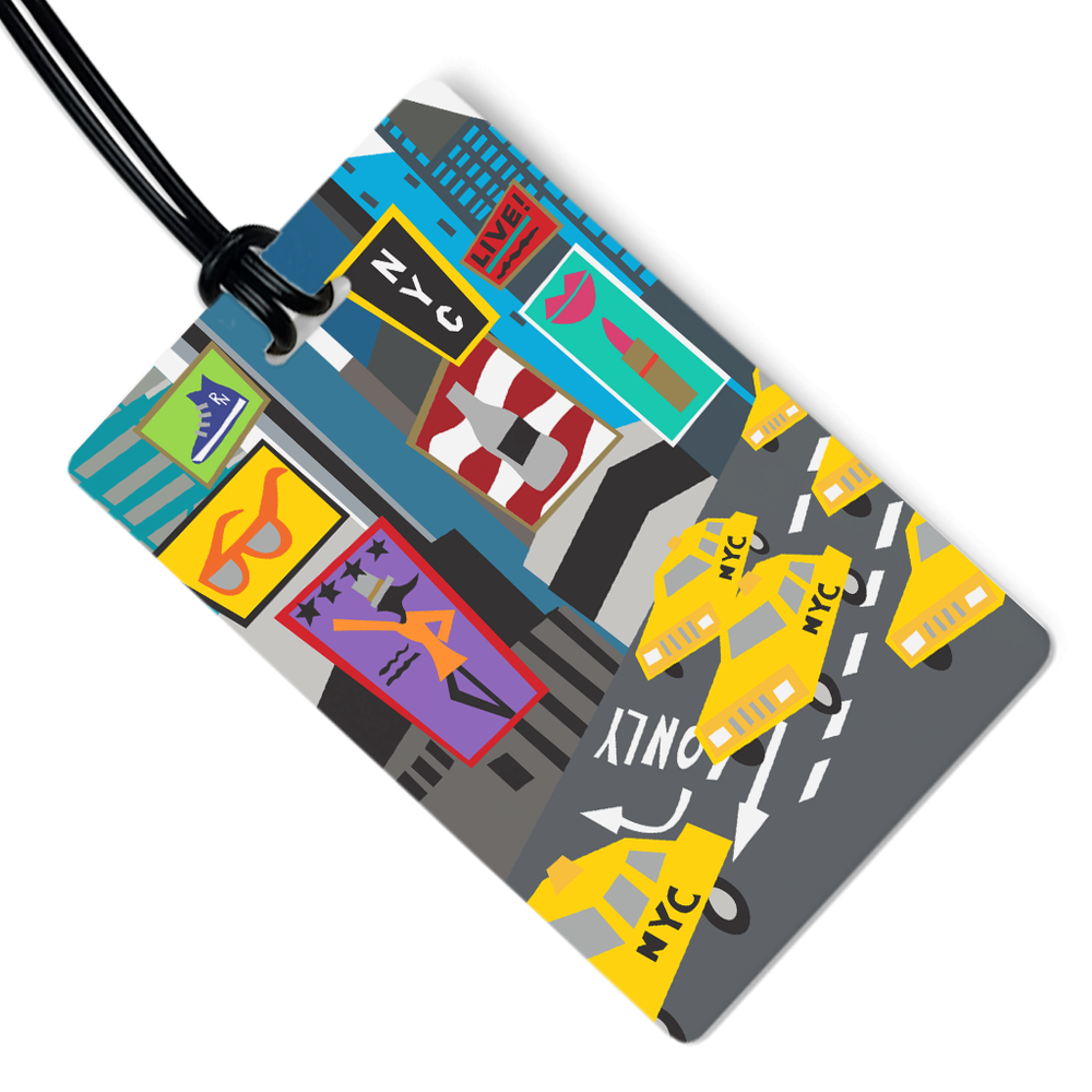 New York City Luggage Tag
