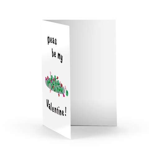 Peas Love Greeting Card