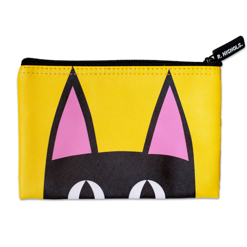 Peeking Kitty Pouch