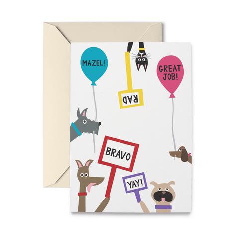 Pet Congrats Greeting Card