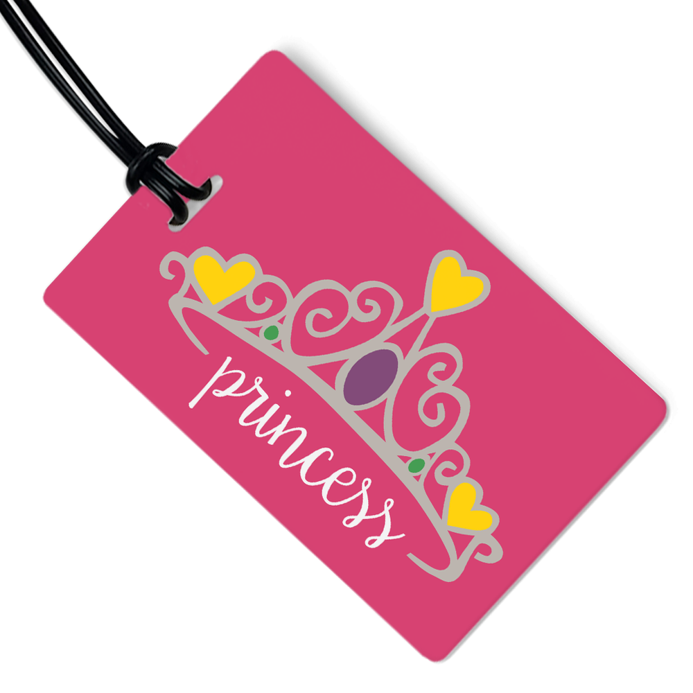 Princess Crown Luggage Tag