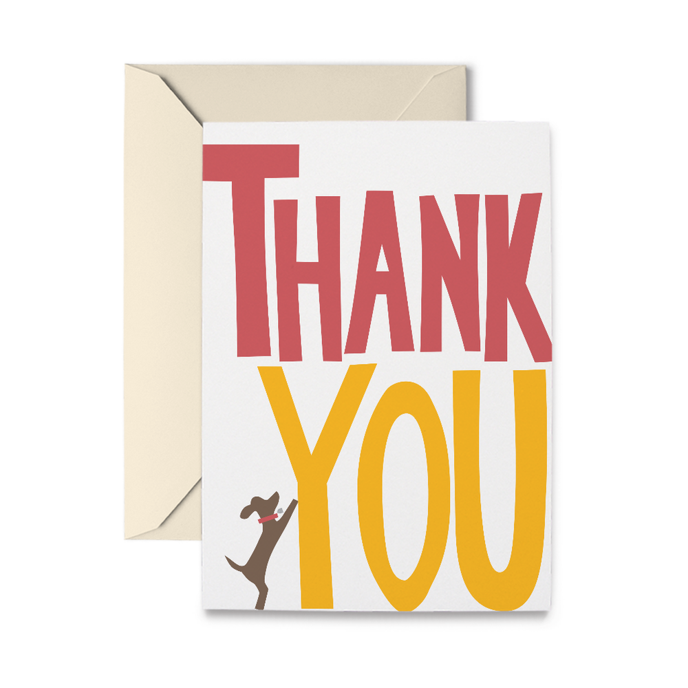 Really Big Thank You Greeting Card