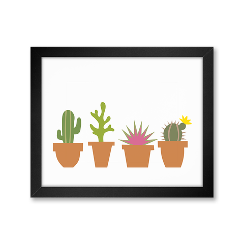 Succulents, Limited Edition Print