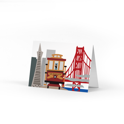 San Francisco Note Cards