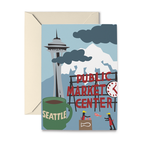 Seattle Note Cards