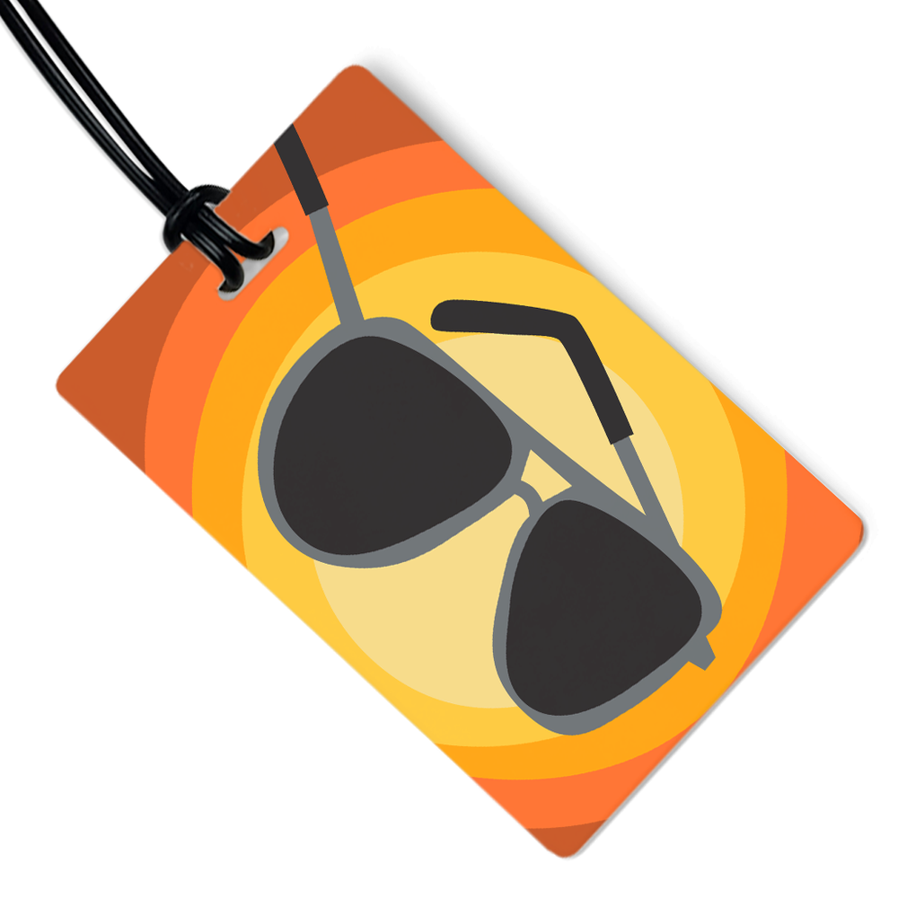 Shades Luggage Tag