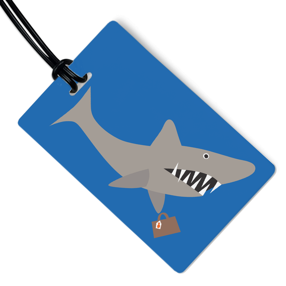 Travel Shark Luggage Tag