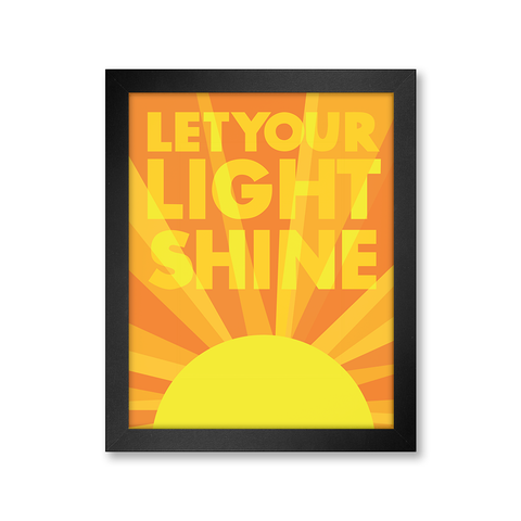 Shining Light Print