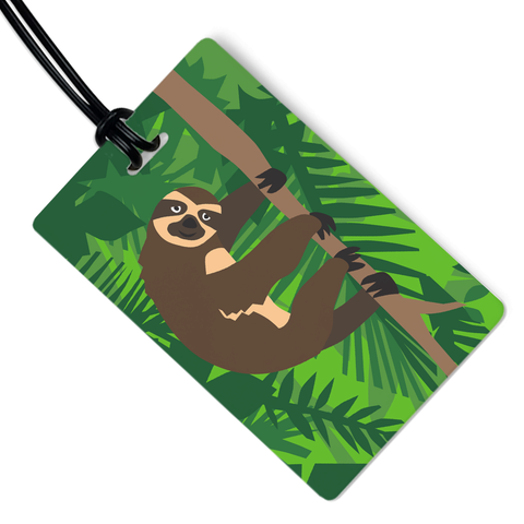 Sloth Luggage Tag