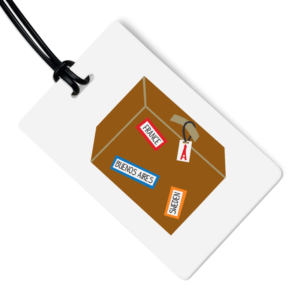 Suitcase Luggage Tag