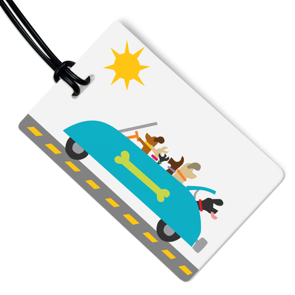 Sunday Drive Luggage Tag