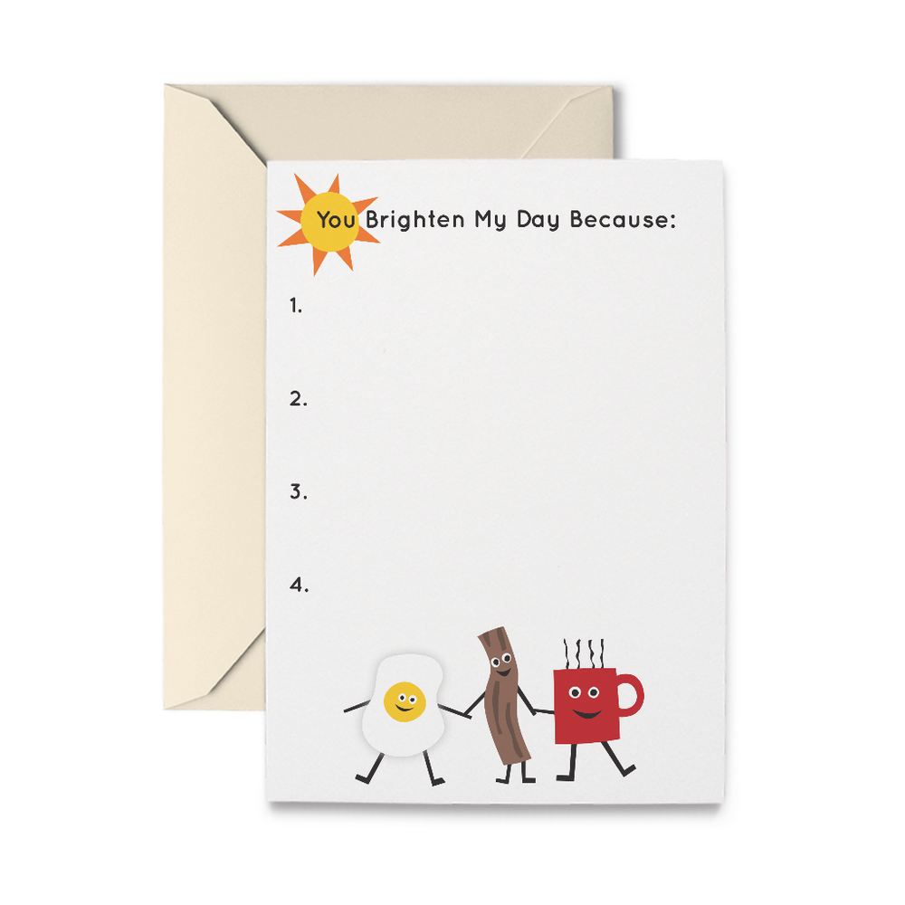 Sunnyside Up Graticard Greeting Card