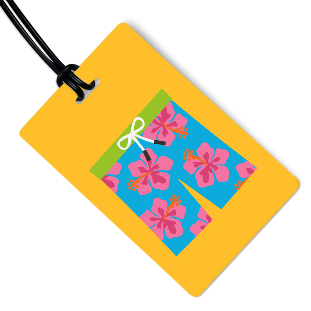 Swim Trunks Luggage Tag