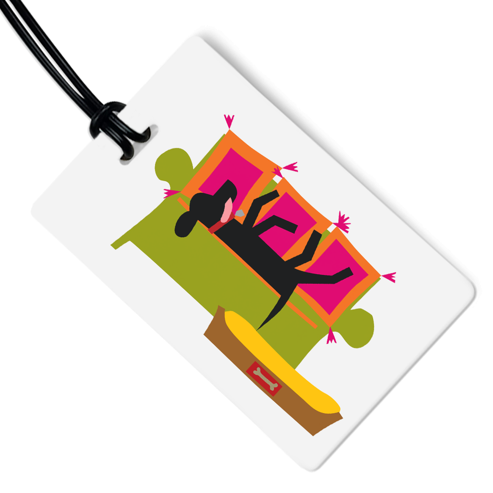 The Nap Luggage Tag