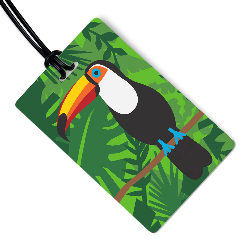 Toucan Luggage Tag