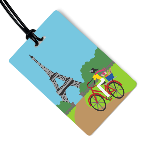 Tour Eiffel Luggage Tag