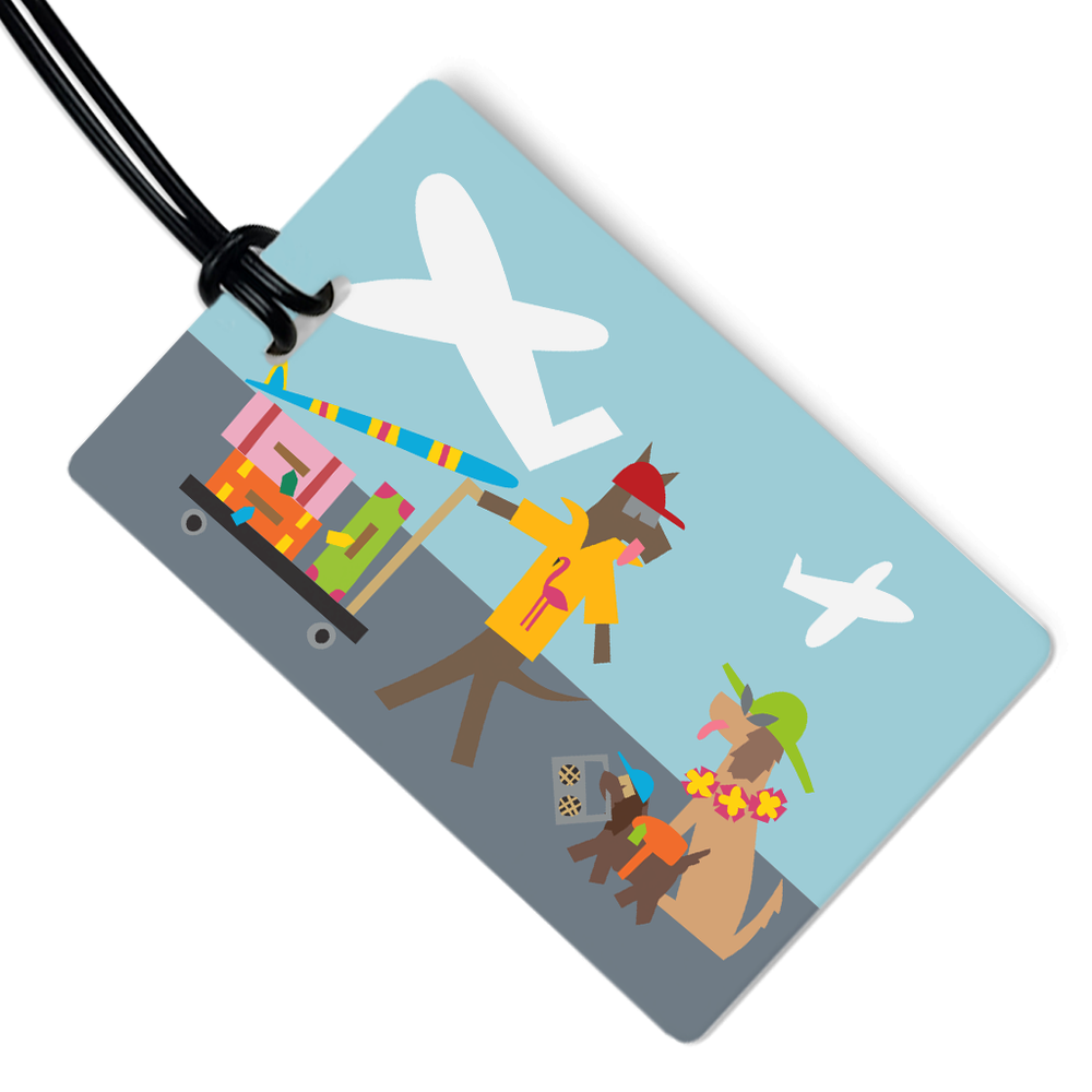 Travel Dogs Luggage Tag