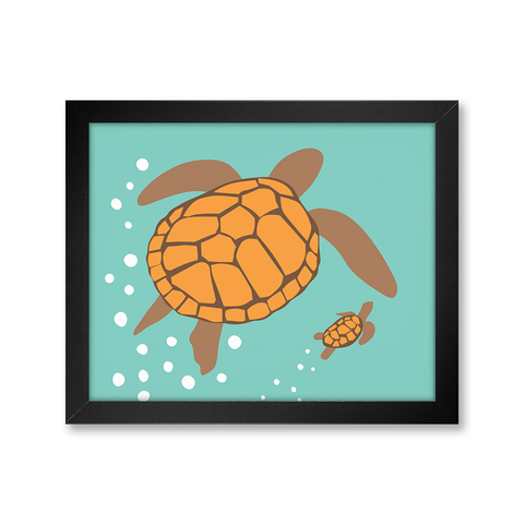 Turtle, Limited Edition Print