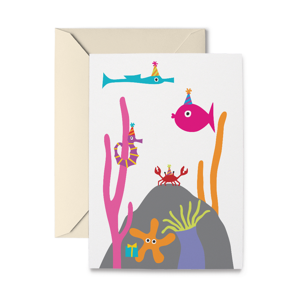 Undersea Birthday Greeting Card
