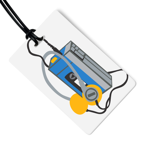 Walkman Luggage Tag