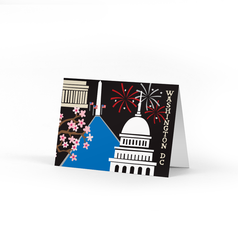Washington DC Note Cards