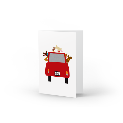 Woofmobile Note Cards