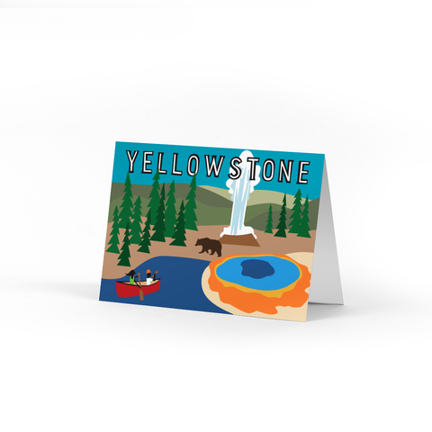 Yellowstone Note Cards