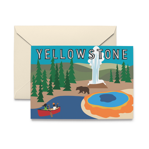 National Parks Assortment Note Cards