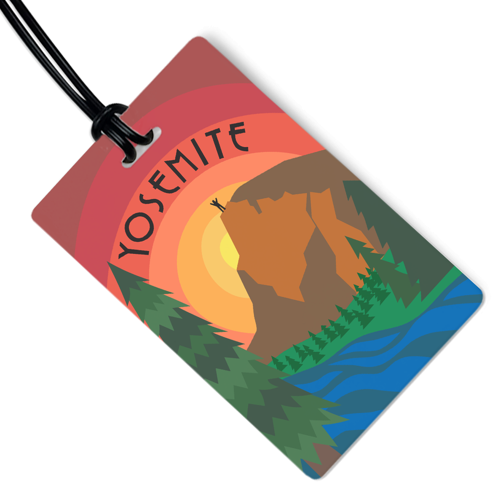 Yosemite Luggage Tag