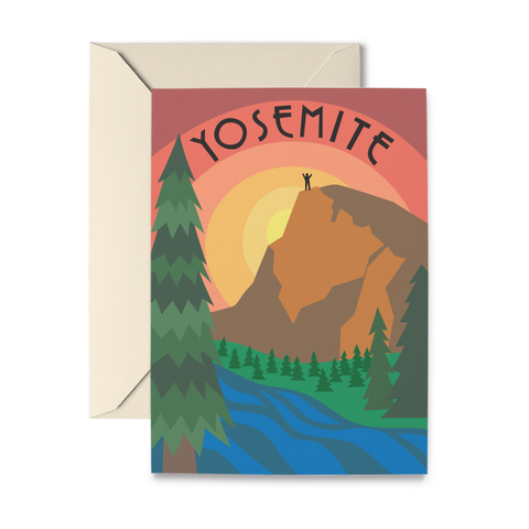 Yosemite Note Cards