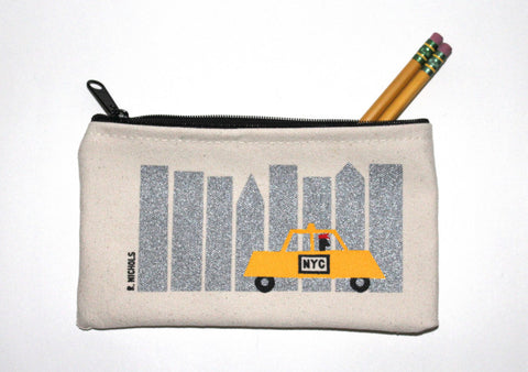 Taxi Zip Pouch