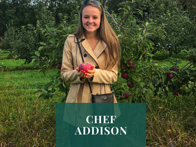 GOING ORGANIC WITH CHEF ADDISON