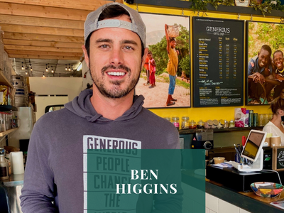 #TheGoodTribe Interview with Ben Higgins, founder of Generous Coffee