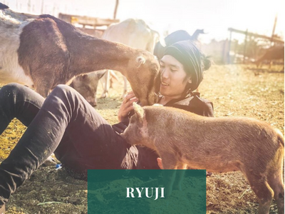 Ryuji,  Animal Liberation Activist and Founder of Peace By Vegan